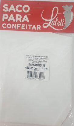 Saco Para Confeitar Emborrachado M Laleti 40cm x 22cm c/1