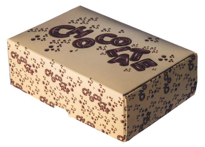 Caixa para Chocolate Decorada Decora c/5 unid