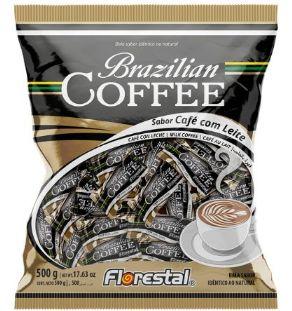Bala de Caffe com Leite Florestal 500g