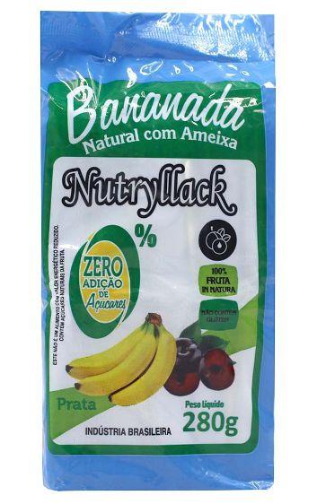 Bananada com Ameixa Nutryllack 280g