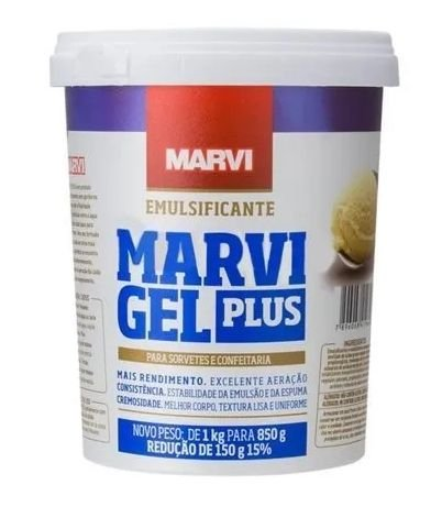 Emulsificante Gel Plus Marvi  850g