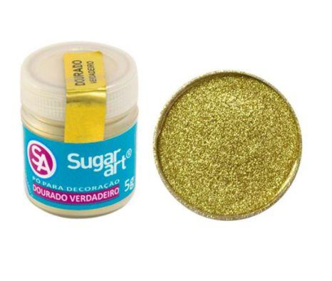 Pó para Decoração Dourado Sugar Art 3g