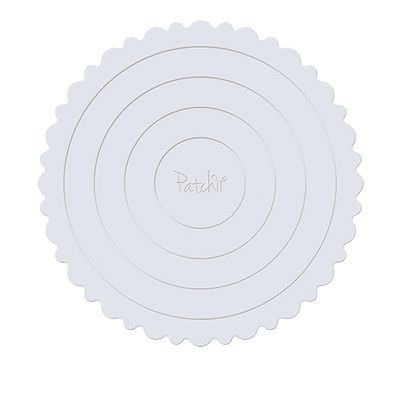 Cake Board Branco Patchii 21cm x 21cm