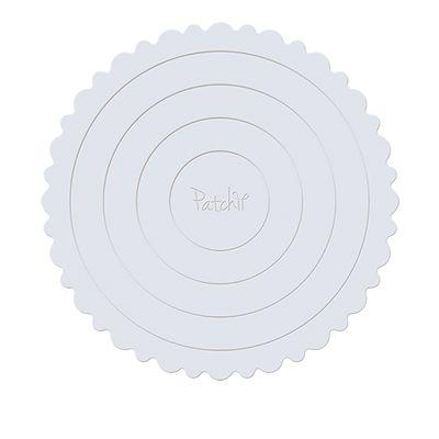 Cake Board Branco Patchii 34,5cm x 34,5cm