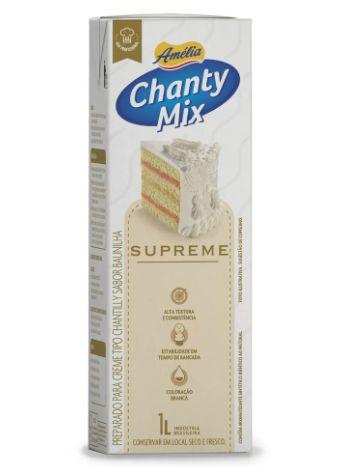 Chantilly Chanty Mix Amélia Supreme 1L - Validade 28/12