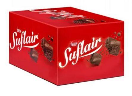 Chocolate em Barra Ao leite Suflair Nestlé 1kg