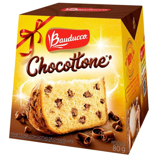 Mini Chocottone Bauducco 80g