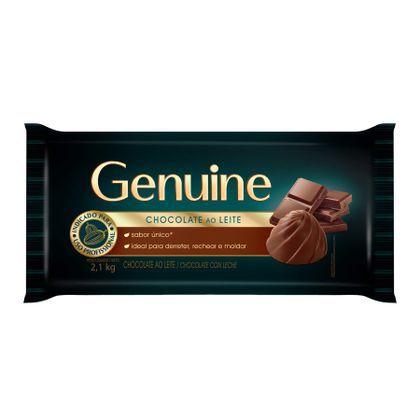 CHOCOLATE AO LEITE GENUINE 2,1KG