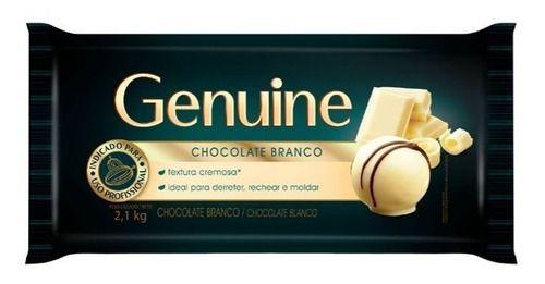 CHOCOLATE BRANCO GENUINE 2,1KG