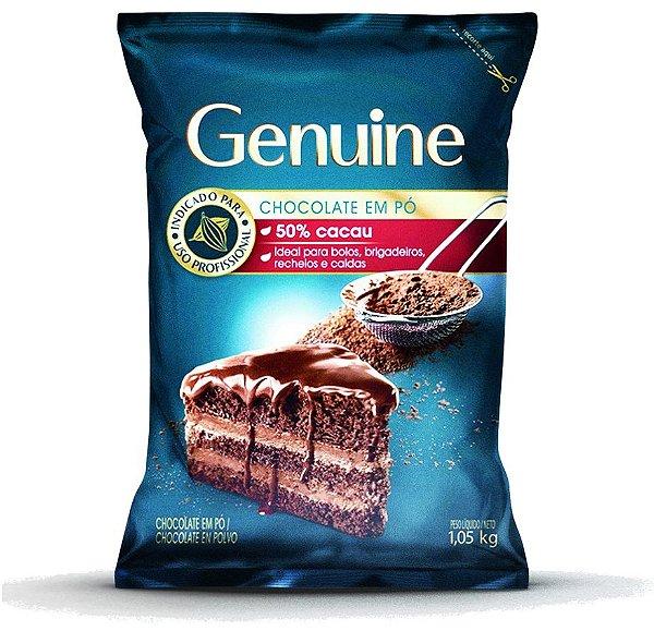 CHOCOLATE EM PÓ 50% GENUINE 1,05KG
