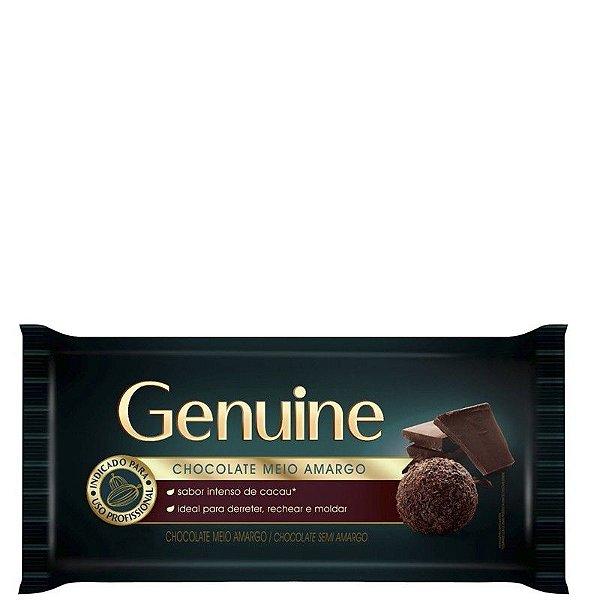 CHOCOLATE MEIO AMARGO GENUINE 1KG