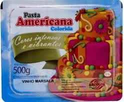 Pasta Americana Marsala Arcolor 500g - Validade 28/02