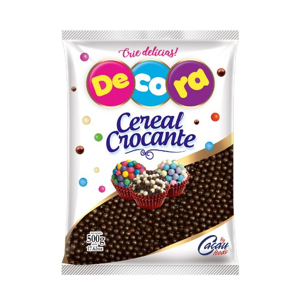 Cereal Crocante mini chocolate Decora 500g
