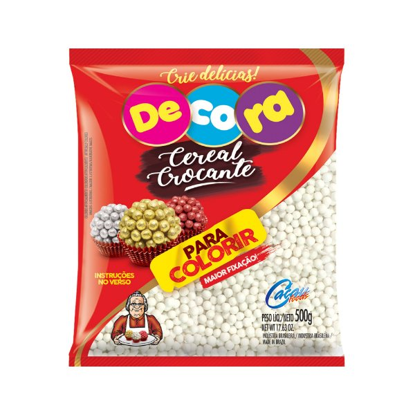 Cereal Crocante mini para colorir Decora 500g