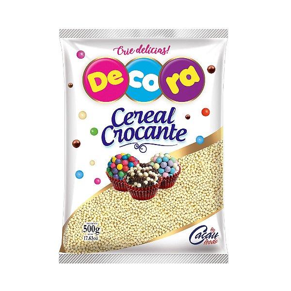 Cereal Crocante micro branco Decora 500g