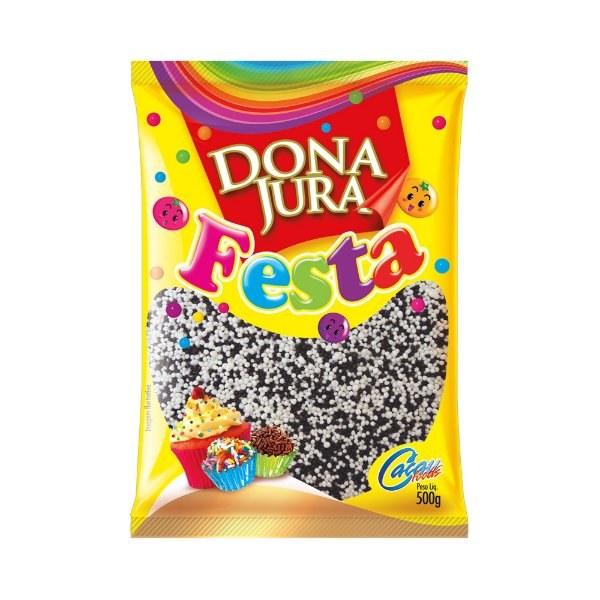 Miçanga Crocante mesclada Dona Jura 500g