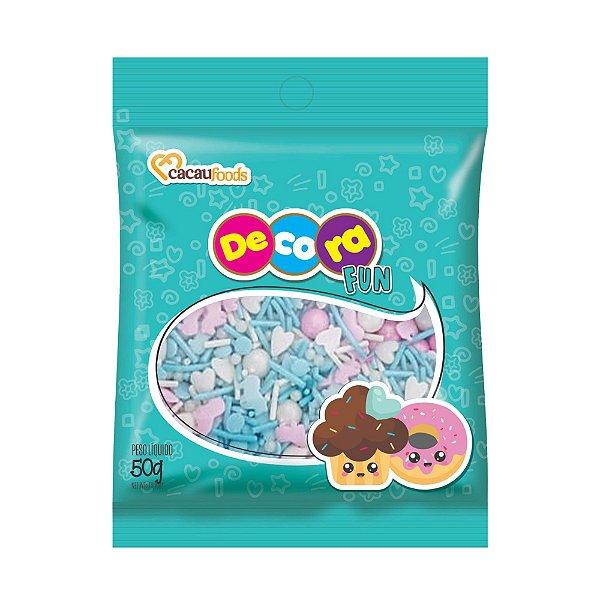 Confeito Fun sweet Blue Decora 50g