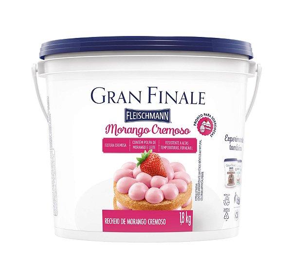 Recheio Morango Fleishmann Gran Finale - 1.8kg