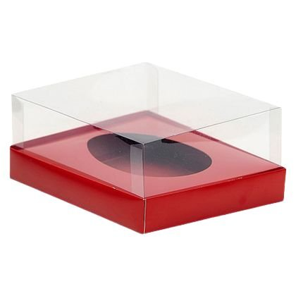 Caixa Ovo de Colher Vermelha 350G c/ 5unid