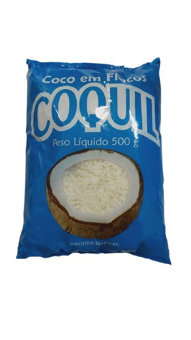 COCO EM FLOCOS 500g - COQUIL