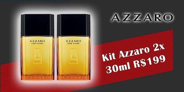 Kit Azzaro Pour Homme Eau de Toilette 30ml + 30ml