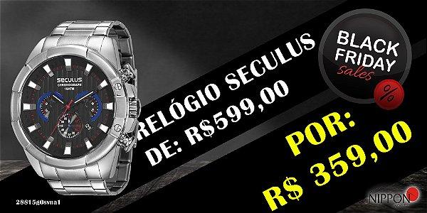 Relógio Masculino Seculus Cronógrafo 28815g0svna1