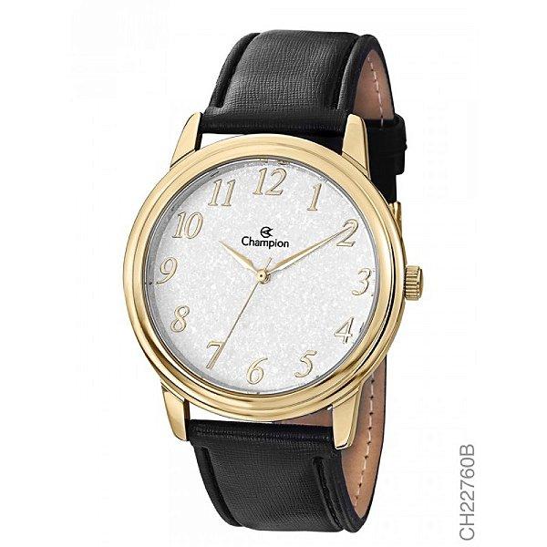 Relógio Champion Pulseira de Couro CH22760B
