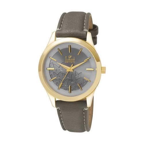 Relógio Dumont Feminino London DU2035LSW/3K Dourado