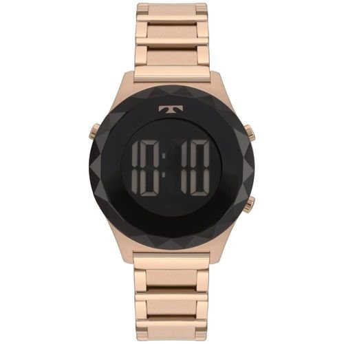 Relógio Feminino Technos Crystal BJ3851AC/4P 38mm Aço Rosé