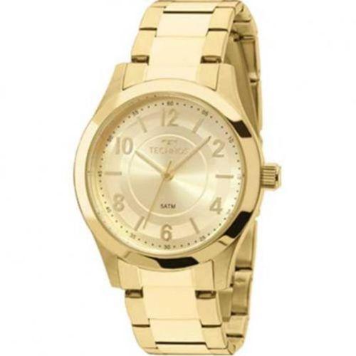 Relógio Technos Dourado Feminino Elegance 2035mft4x