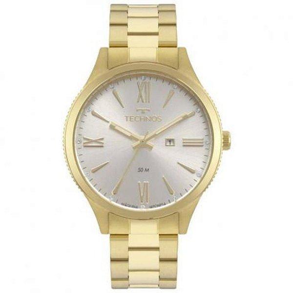 Relógio Technos Feminino Dourado 2015ccp/4k