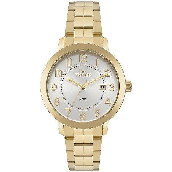 Relógio Technos Feminino Ref: 2115mru/4k Elegance Dourado