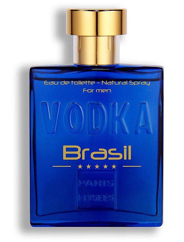 Perfume Vodka Brasil Azul EDT Paris Elysees -  100ml