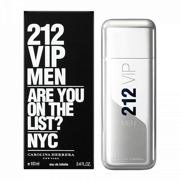 Perfume 212 Vip Men 200ml Eau de Toilette Masculino