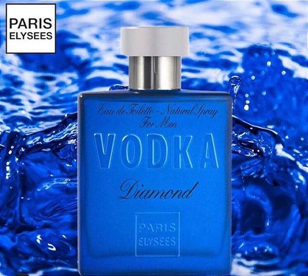Perfume Vodka Diamond EDT Paris Elysees -  100ml
