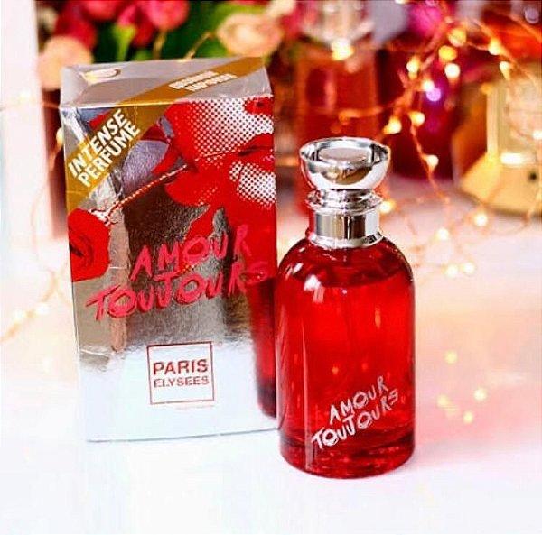 Perfume Amour Toujours EDT Paris Elysees -  100ml