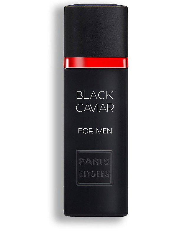 Perfume Black Caviar For Men EDT Paris Elysees -  100ml