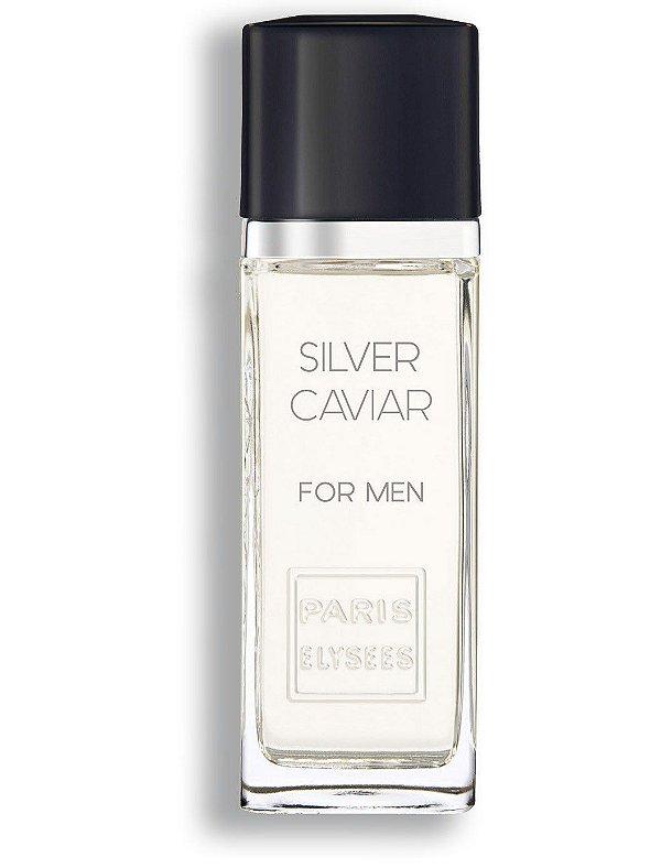 Perfume Silver Caviar For Men EDT Paris Elysees -  100ml