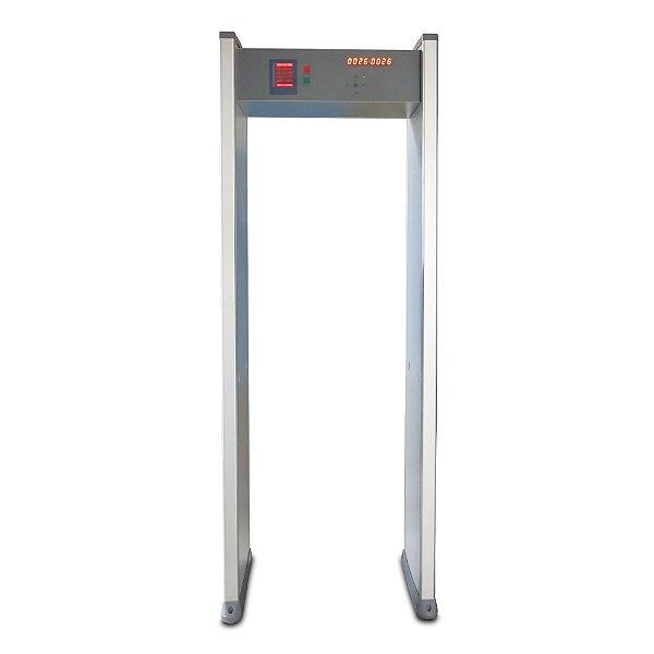 Portal detector de metal 6 zonas DP1