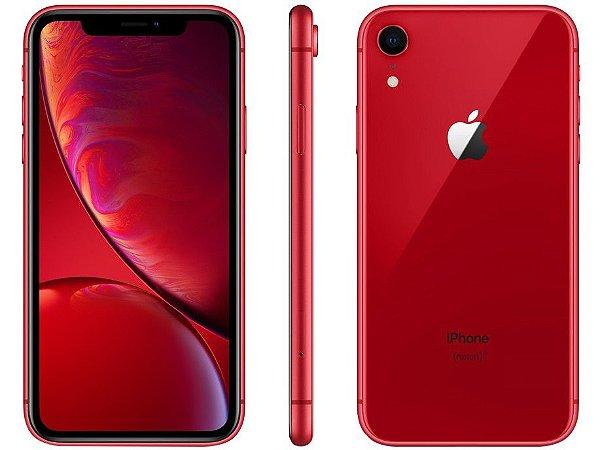iPhone Xr Red 64gb - Nacional Homologado - Garantia 1 ano