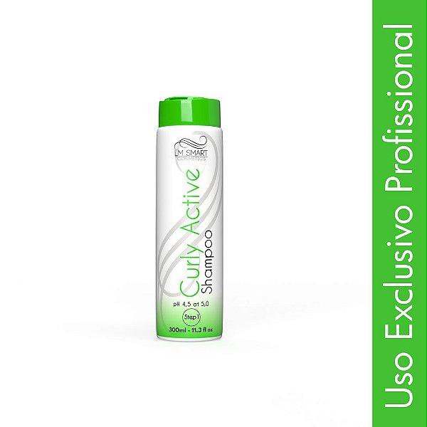 Shampoo Anti Resíduo para Permanente Afro e Desprogressiva Curly Active 300ml