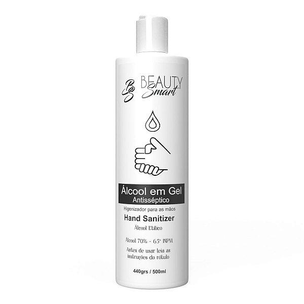 Álcool em Gel Antiséptico 70% - Higienizador de Mãos Beauty Smart