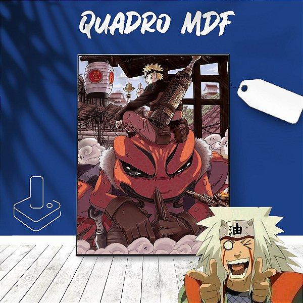 Quadro mdf Naruto