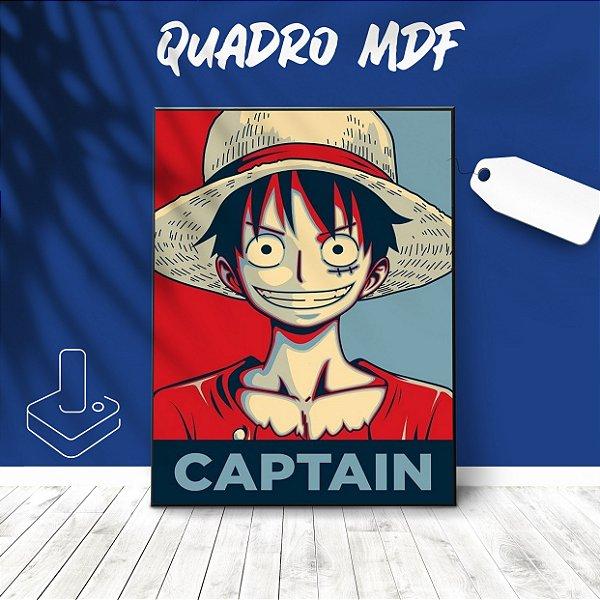 Quadro mdf Luffy One Piece