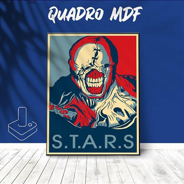 Quadro mdf Nemesis Resident Evil