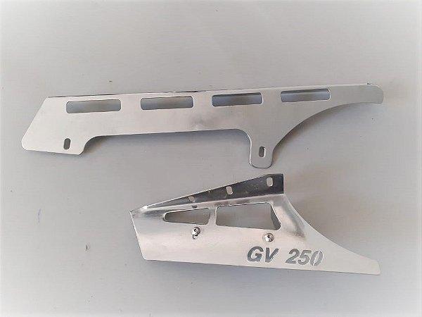 Protetor KIT 2 peças Cromado  KASISNSKI Mirage 250 TDS