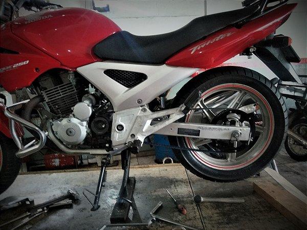 KIT Relação correia Honda CBX250 Twister 2002 à 2008