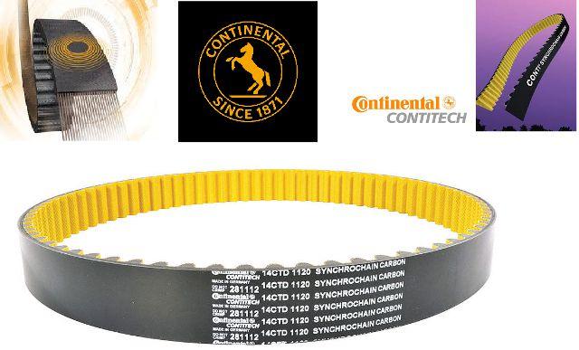 Correia Continental Carbon CTD-1600/17mm - 200 dentes