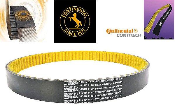 Correia Continental Polychain Fibra carbono 14MGT1750X21  XRE300/Fazer250/XTZ250/Lander/Tenere