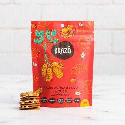 SNACK Proteico 30g Sabor Amendoim com Néctar de Coco